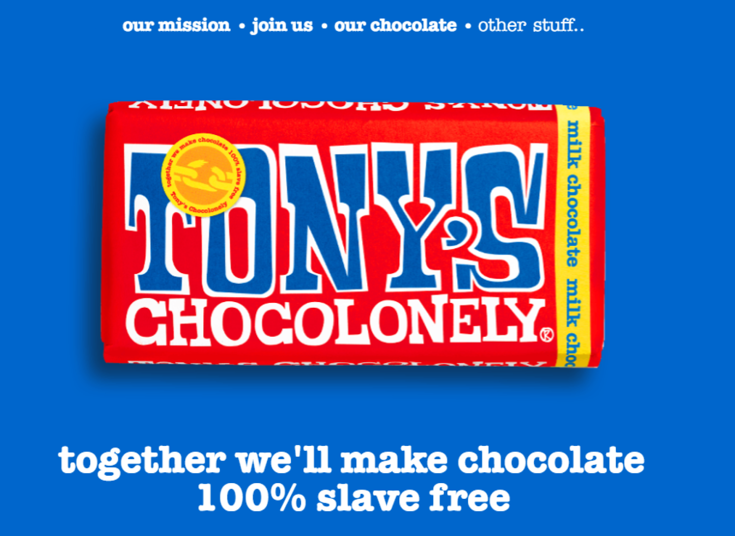 The chocolate bar that's ending slavery